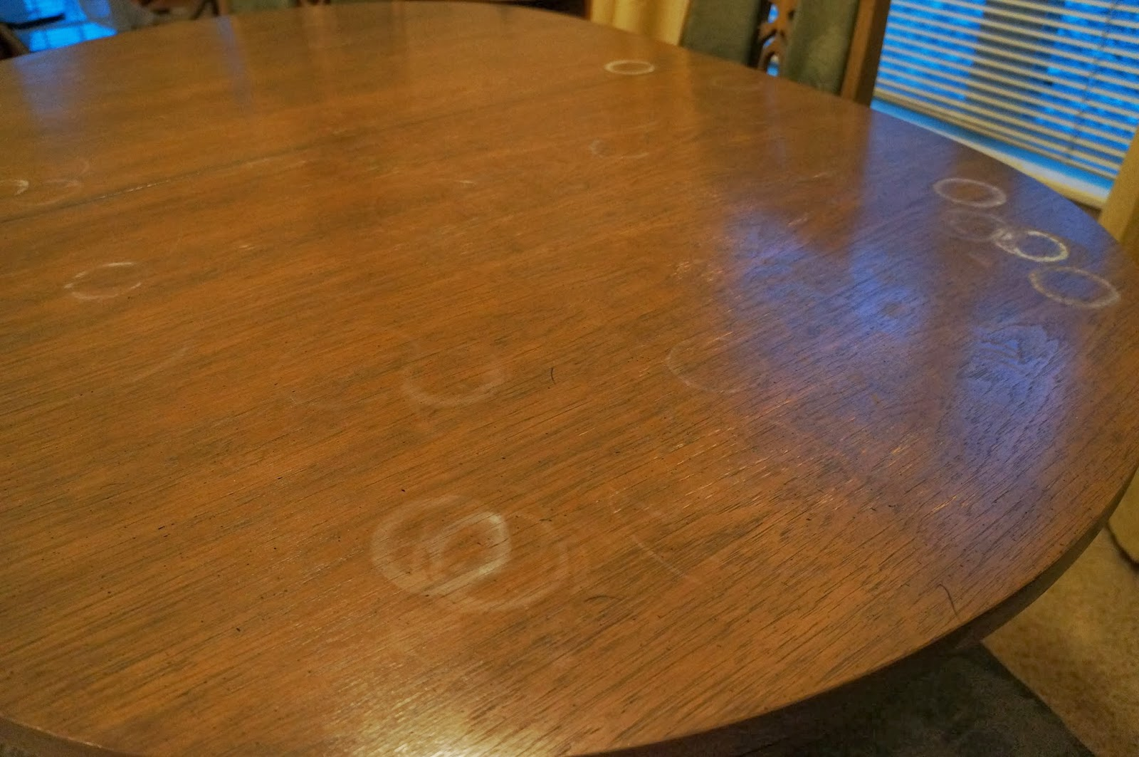 How To Get White Marks Off A Wood Table By Cmp